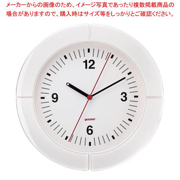 グッチーニ ウォールクロック 2895.0011 ホワイト 【メイチョー】