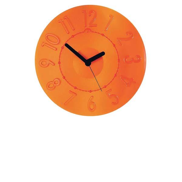 グッチーニ ウォールクロック 0499.0045 オレンジ 【メイチョー】