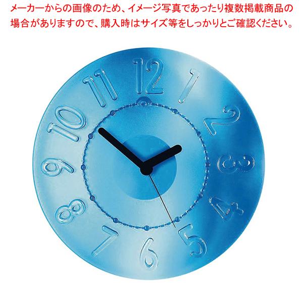 グッチーニ ウォールクロック 0499.0066 ブルー 【メイチョー】