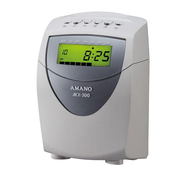アマノ 時間集計タイムレコーダー MX-300 【メイチョー】