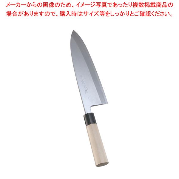 堺實光 上作 出刃(片刃) 24cm 17538【 和包丁 出刃 】 【メイチョー】