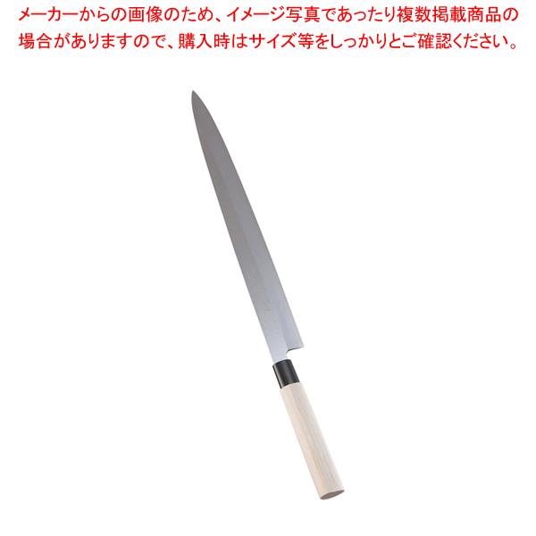 堺實光 特製霞 刺身(片刃) 36cm 34406 【メイチョー】