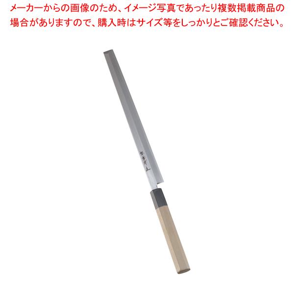 堺孝行 シェフ和庖丁 銀三鋼 蛸引 27cm 【メイチョー】