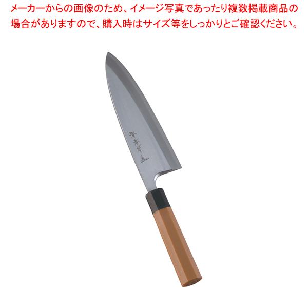 堺孝行 モリブデン鋼 PC柄 出刃 21cm 【メイチョー】