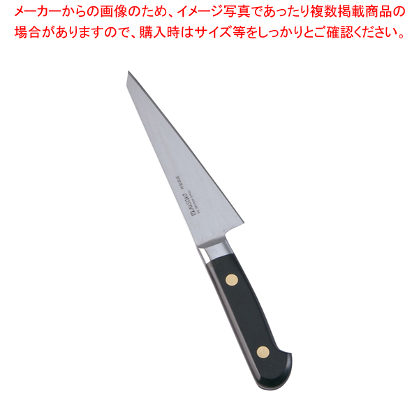 ミソノ・スウェーデン鋼骨すき角型No.141 (東型鳥魚庖丁)14.5cm 【メイチョー】