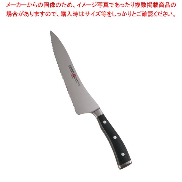 クラッシックアイコン ブレッドナイフ 4124 20cm 【メイチョー】