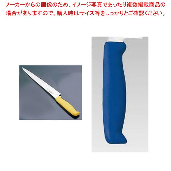 エコクリーン トウジロウ カラー筋引 24cmブルー E-183BL 【メイチョー】