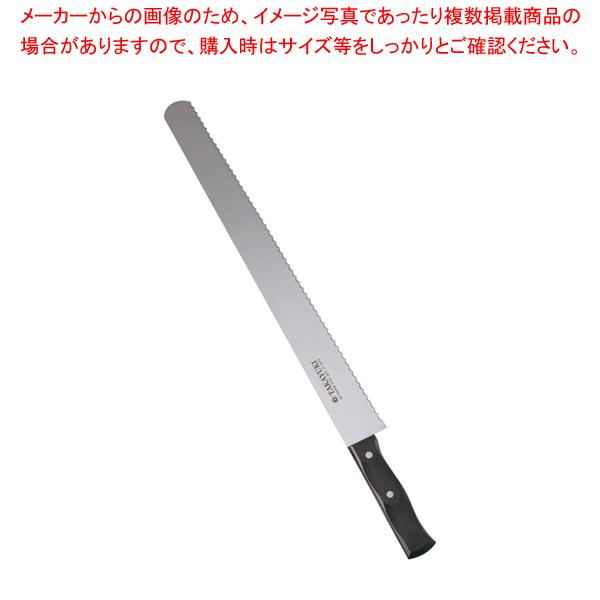 孝行 カステラナイフ波刃(ステンレス製) 42cm 【メイチョー】