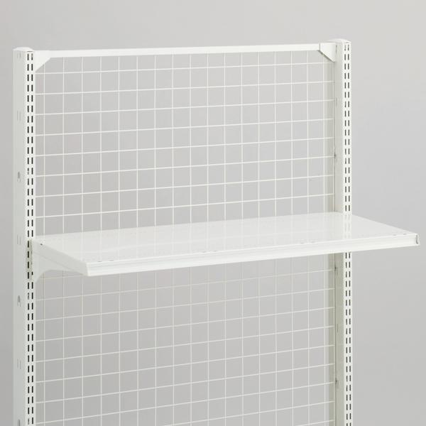 スチール什器用棚板セット W1200×D750 ホワイト 【メイチョー】