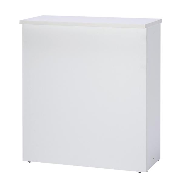 ハイカウンター W900 ホワイト 【メイチョー】