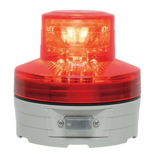 LED回転灯 ニコUFO φ76 レッド 【メイチョー】