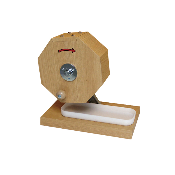 tmy-58670-1x シンプル木製抽選器 300球用 【メイチョー】