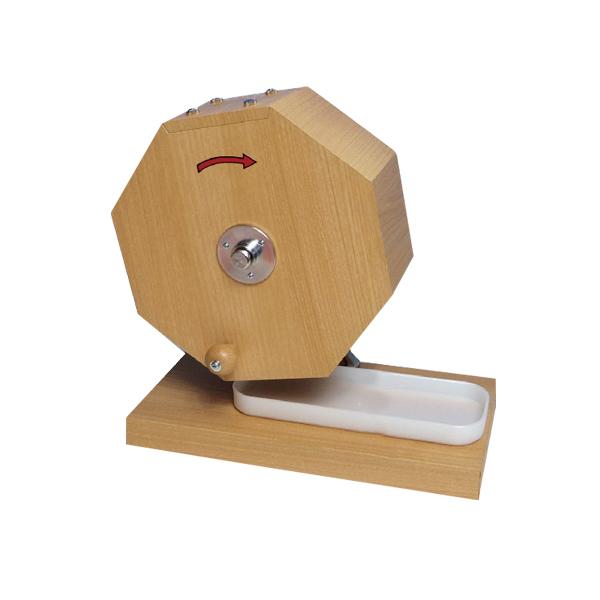 シンプル木製抽選器 500球用 【メイチョー】