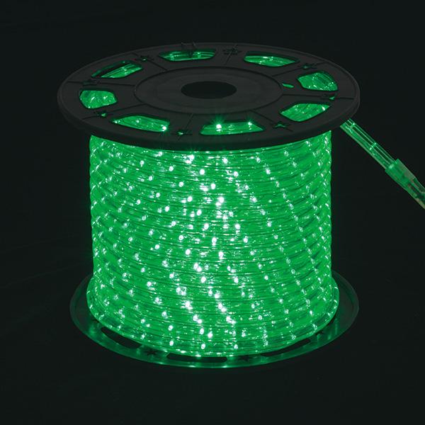 新360°発光ロープライトII グリーン 【メイチョー】