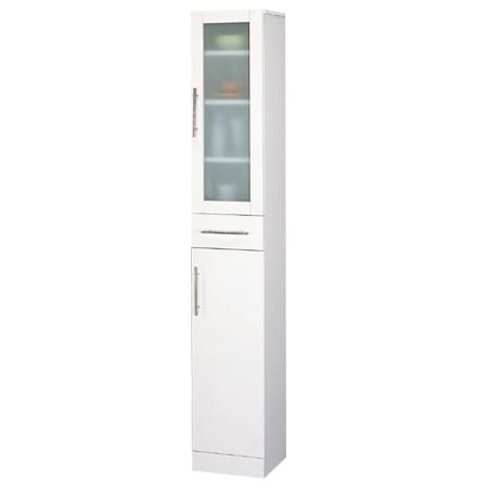 食器棚 カトレア 幅30×高さ180cm 【 メーカー直送/代金引換決済不可 】 メイチョー