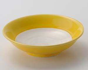 【まとめ買い10個セット品】和食器 ロ015-037 黄白刺身鉢【キャンセル/返品不可】【開業プロ】