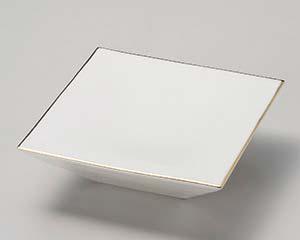 【まとめ買い10個セット品】和食器 カ022-146 艶ホワイトスクエアー台皿 【キャンセル/返品不可】【開業プロ】
