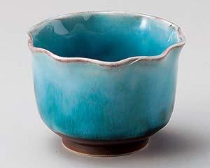 和食器 テ071-206 トルコ釉花型珍味