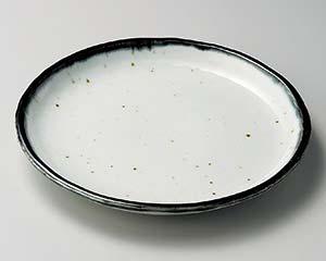 【まとめ買い10個セット品】和食器 タ202-227 藍8.0丸皿【キャンセル/返品不可】【開業プロ】
