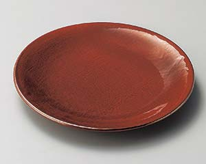 【まとめ買い10個セット品】和食器 ロ203-057 紅結晶8.0丸皿【キャンセル/返品不可】【開業プロ】
