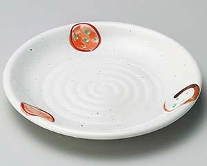 【まとめ買い10個セット品】和食器 テ216-047 粉引丸紋5.0皿【キャンセル/返品不可】【開業プロ】