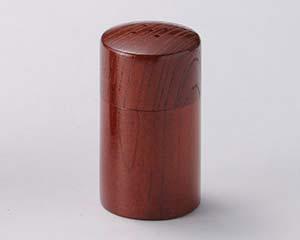和食器 ワA292-406 筒型塩入(茶)