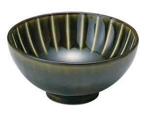 【まとめ買い10個セット品】和食器 イ422-476 利休 GREEN 200kcal 茶碗 【キャンセル/返品不可】【開業プロ】