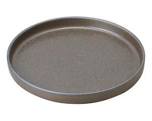 【まとめ買い10個セット品】和食器 タ445-296 23cm丸切立皿 【キャンセル/返品不可】【開業プロ】