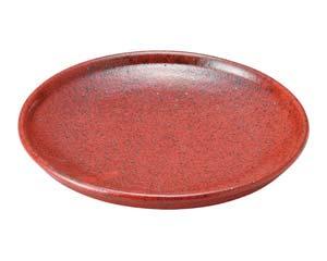 isj-487-577 まとめ買い10個セット品 和食器 ユ487-577 あかゆず 高価値 2020 7.0皿 開業プロ 返品不可 キャンセル
