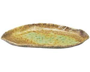 和食器 ミ491-096 変り長皿