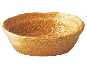 【まとめ買い10個セット品】和食器 ウ505-166 木の葉型5.3多用鉢 【キャンセル/返品不可】【開業プロ】