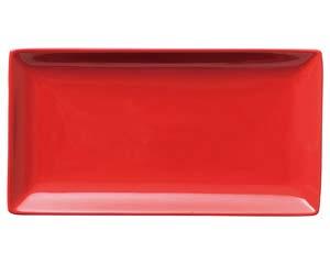 【まとめ買い10個セット品】和食器 ホ528-036 スタイルI赤27cm長角皿 【キャンセル/返品不可】【開業プロ】
