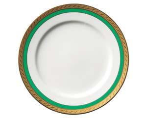 【まとめ買い10個セット品】和食器 ホ538-306 グリーングラス9吋皿 【キャンセル/返品不可】【開業プロ】