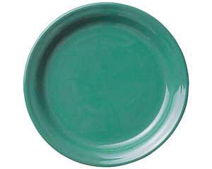 【まとめ買い10個セット品】ト588-037 グリーン10吋皿 【キャンセル/返品不可】【開業プロ】