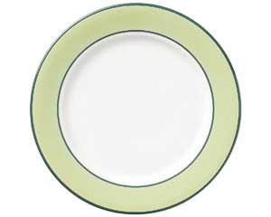 【まとめ買い10個セット品】ツ576-537 グリーンセラム 9吋ミート皿【キャンセル/返品不可】【開業プロ】