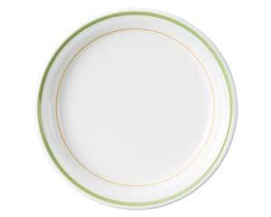 【まとめ買い10個セット品】カ591-627 グランデ・ライン 7 1/2ケーキ皿【キャンセル/返品不可】【開業プロ】