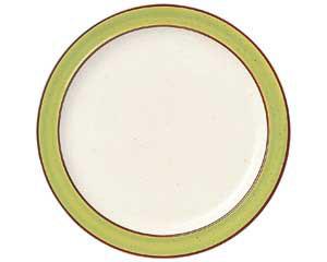 【まとめ買い10個セット品】ツ577-537 No.656 マンゴレインボーストン 8吋ライス皿【キャンセル/返品不可】【開業プロ】