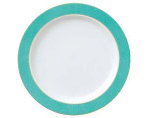 【まとめ買い10個セット品】ホ591-047 エメラルドグリーン 10吋ディナー皿【キャンセル/返品不可】【開業プロ】