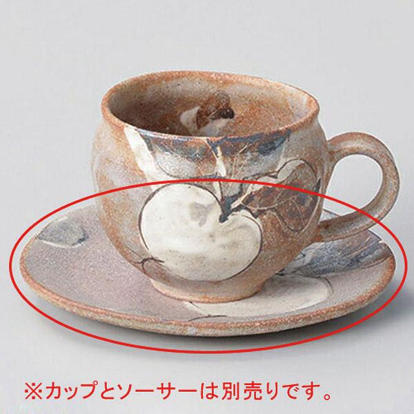 【まとめ買い10個セット品】ト602-257 鼠志野カブコーヒー受皿【キャンセル/返品不可】【開業プロ】