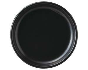 【まとめ買い10個セット品】ハ659-017 コムラン 26cm丸皿(黒)【キャンセル/返品不可】【開業プロ】