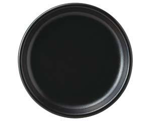 【まとめ買い10個セット品】ハ659-027 コムラン 23cm丸皿(黒)【キャンセル/返品不可】【開業プロ】
