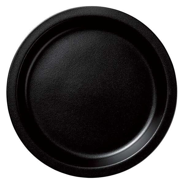 和食器 イ593-017 ガストロノームパン(UAE) 丸型深L黒 【メイチョー】