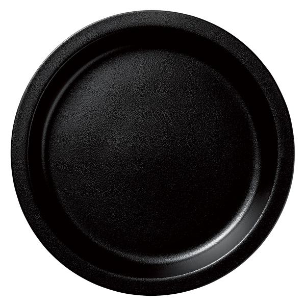 和食器 イ593-027 ガストロノームパン(UAE) 丸型深M黒 【メイチョー】
