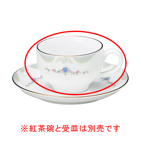 【まとめ買い10個セット品】ヤ580-087 グレース 紅茶碗のみ【キャンセル/返品不可】【開業プロ】