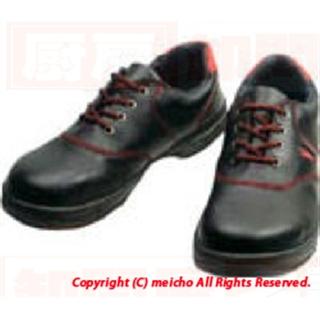 [株]シモン シモン 安全靴 短靴 SL11-R黒/赤 28.0cm SL11R28.0【保護具 安全靴 DIY 工具】 メイチョー