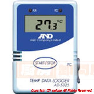 [株]エー.アンド.デイ A&D 温度データーロガー 8000メモリー AD5325 メイチョー