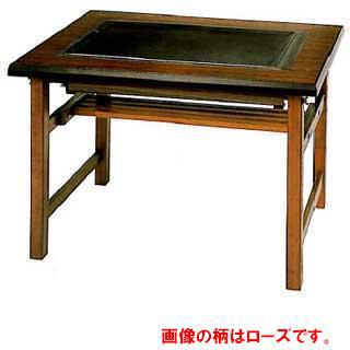業務用ガス式お好み焼きテーブル テーブル型 【 メーカー直送/後払い決済不可 】 メイチョー