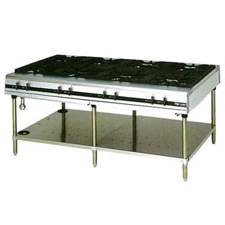 マルゼン パワークックガステーブル MGTX-1812E 1800×1200×800 メイチョー【 メーカー直送/後払い決済不可 】