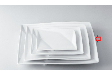 【まとめ買い10個セット品】和食器 折紙 12吋角皿 35A407-05 まごころ第35集 【キャンセル/返品不可】【開業プロ】