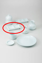 【まとめ買い10個セット品】和食器 青白磁 二品皿 36H309-32 まごころ第36集 【キャンセル/返品不可】【開業プロ】
